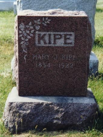 Iowa headstone